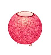 SALEBRATIONS BALL TABLE LAMP SHADES WITH YARN