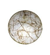 SALEBRATIONS FULL MOON WALL LAMP SHADES YARN WITH BANANA FIBER