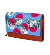 Flower power wallet