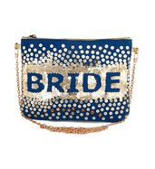 Bride Sequin Sling Bag