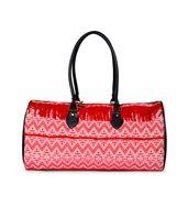 Red Travel Duffle Bag
