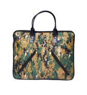 Camouflage Pixelated laptop bag
