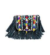 Fringey Beady sling bag