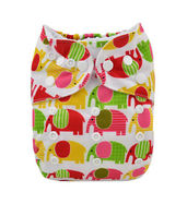 Pocket Diaper - Elephant Party