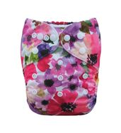 Diaper Cover -Floral Hues