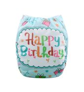 Pocket Diaper - Happy Birthday