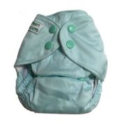 Newborn Pocket Diaper - Green Haze (with microfiber insert)