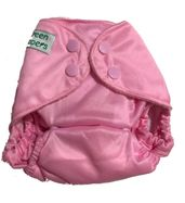 Newborn Pocket Diaper - Pink (with microfiber insert)