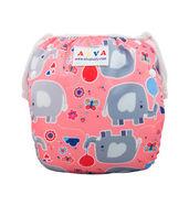 Swim Diaper - PInk Elephants