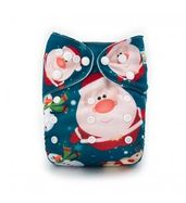 Pocket Diaper - Santa