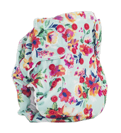 Dream Diaper 2.0  - Aqua Floral