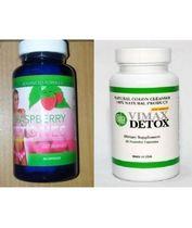 Vimax Detox One Bottle & Raspberry ketones One bottle