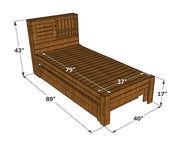Georgia  - 2 Seater Sofa  Bench