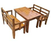 Etilon-  4 seater dining set