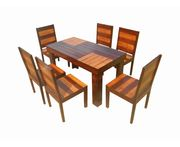 Aura- 6 seater dining set