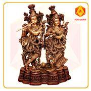 Radha Krishna in Brass