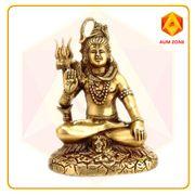 Shiva in Brass