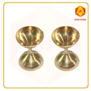 Center wicked 3 inches plain diya