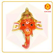 Metallic Orange Ganesh