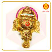 Ganesha in Golden with Chakra