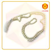 Natural Fresh Water Rice Pearl Sujani Jap Mala  5 mm