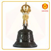 Nepal Bell - Hand Crafted - Black Colour 17cms