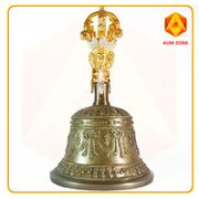 Nepal Bell - Hand Crafted - Grey Colour 17cms