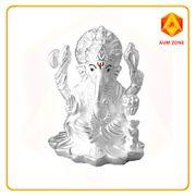 Ganesha Murti in Silver