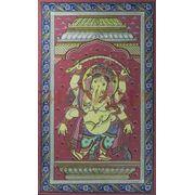 Ganesha - Colored Pattachitra Painting