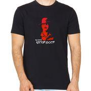 Bhagat singh Black colour  round neck kannada tshirt