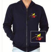 Hemmeya kannadiga navy blue colour sweatshirt withzip
