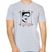 DR Rajkumar Grey colour round neck tshirt
