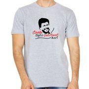 Shankar nag tshirt grey colour round neck kannada tshirt