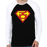 Super Kannadaiga Reglan colour full sleeve Kannada T-shirts