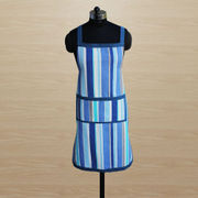 Stripe Apron (Pack of 1) by Dekor World (MORE COLOR)