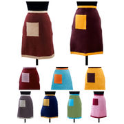 Colour Bonanza Bistro Apron (Pack of 1 Pc) by Dekor World (MORE COLOR)