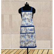 Floral Apron (Pack of 1 Pc) by Dekor World (MORE COLOR)