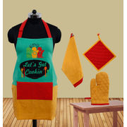 Let's Get Cookin Apron (Pack of 4) by Fun Club