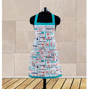 Mom Love Printed Apron (Pack of 1 Pc) by Dekor World (MORE COLOR)