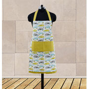 Car Fun Printed Apron (Pack of 1 Pc) by Dekor World