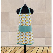 Owl Printed Apron (Pack of 1 Pc) by Dekor World