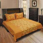 Cotton Floral Printed Bedsheet Set-Pack of 3 Pcs  by Dekor World (MORE COLOR)