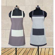 Colour Bonanza Apron (Pack of 2 Pcs) by Dekor World (MORE COLOR)