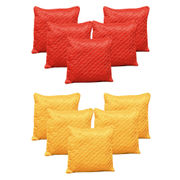 Dekor World Beyond Colours Cushion Cover Combo Set (Pack of 10 Pcs)