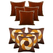 Dekor World Circular Combo. Cushion Cover (Buy5Get5)