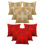 Dekor World Checks Combo. Cushion Cover (Buy5Get5)