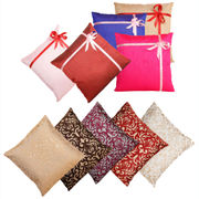 Dekor World Multi Golden Combo. Cushion Cover (Pack of 10)