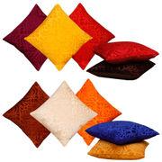 Dekor World Multi Delight Combo. Cushion Cover (Pack of 10)