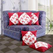 Floral Printed Cushion Cover (Pack Of 5)(More Color & Size)