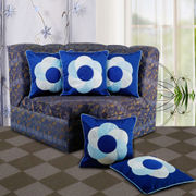 Circular Cushion Cover (Pack of 5 Pcs)(More Color)